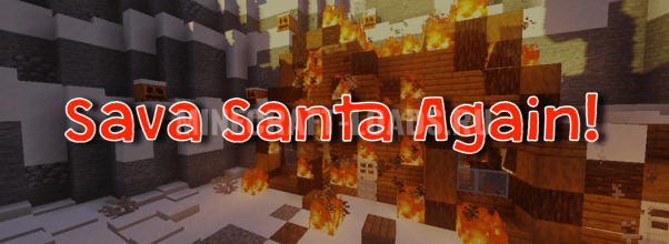 Карта Спасти Санту для Minecraft 1.15.1