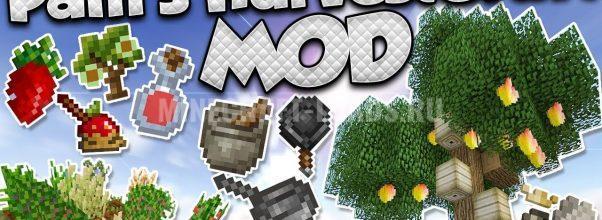 Мод Pam's HarvestCraft для Minecraft 1.12.2