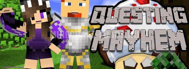 Сборка Questing Mayhem для Minecraft 1.7.10