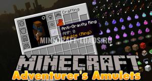 Мод Adventurer's Amulets для Minecraft 1.7.10