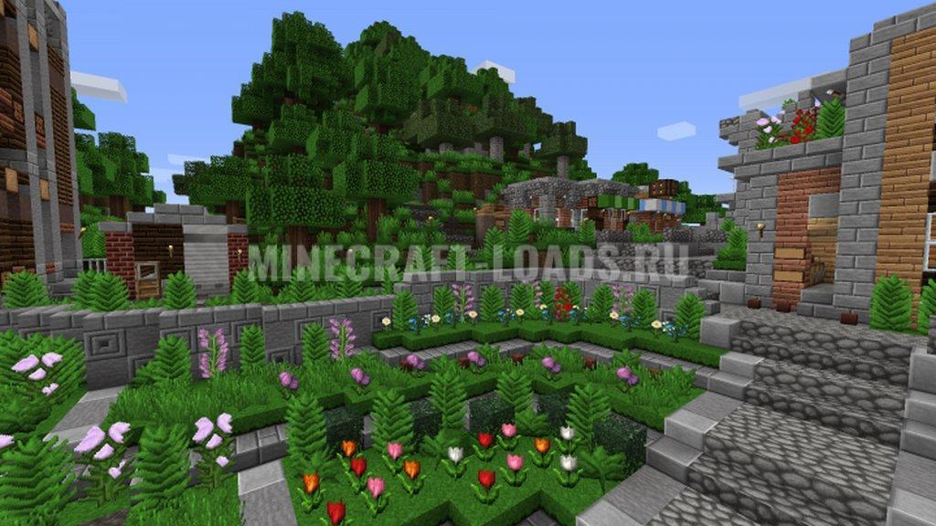 Ресурс пак Coterie Craft для Minecraft 1.16