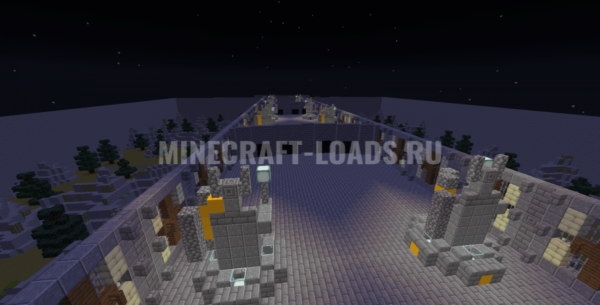 Карта War of champions для Minecraft 1.15.2