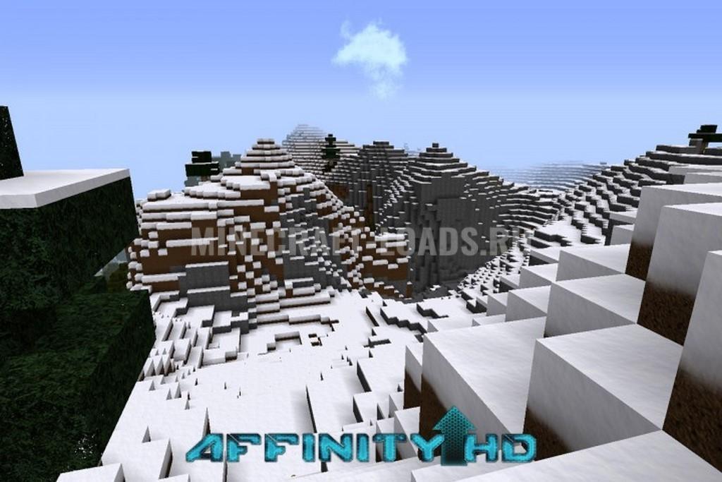 Ресурс пак Affinity HD для Minecraft 1.12.2