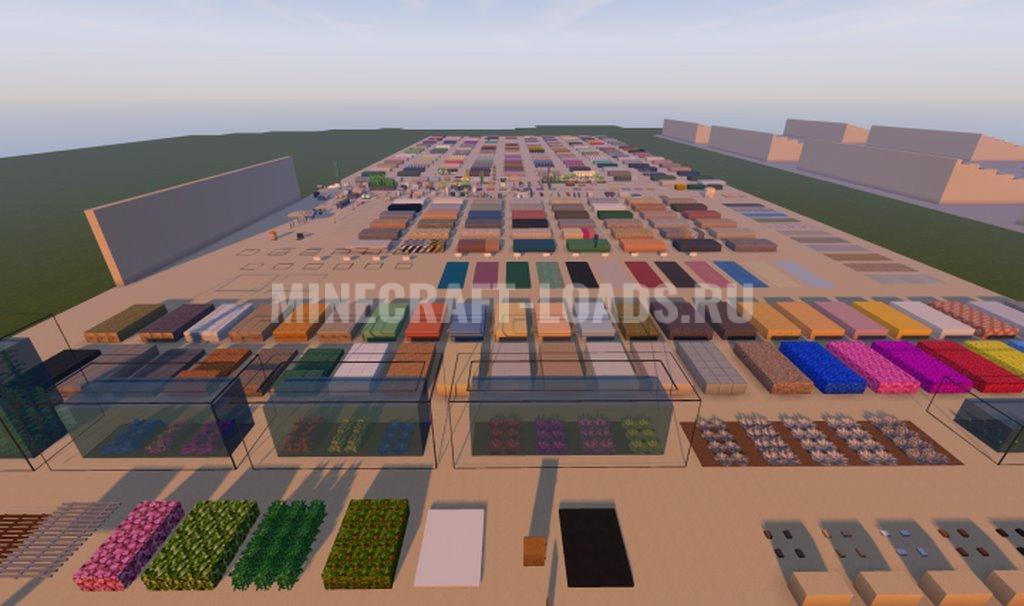 Ресурс пак Amberstone для Minecraft 1.16