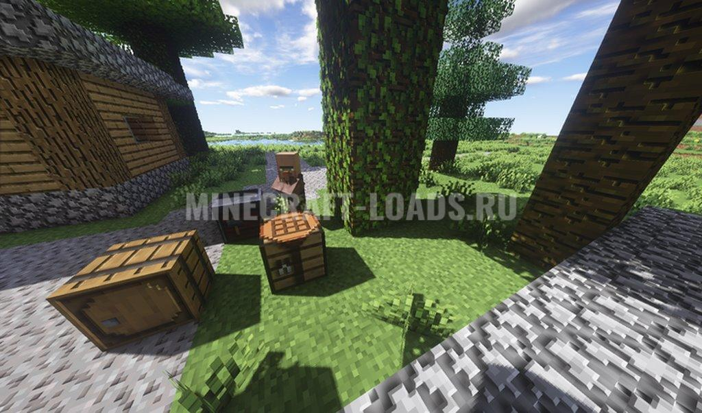 Ресурс пак Hollywood Blocks для Minecraft 1.16