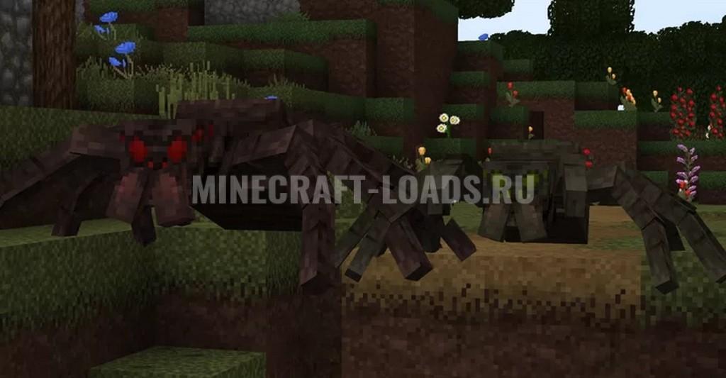Ресурс пак Overgrowth для Minecraft 1.15