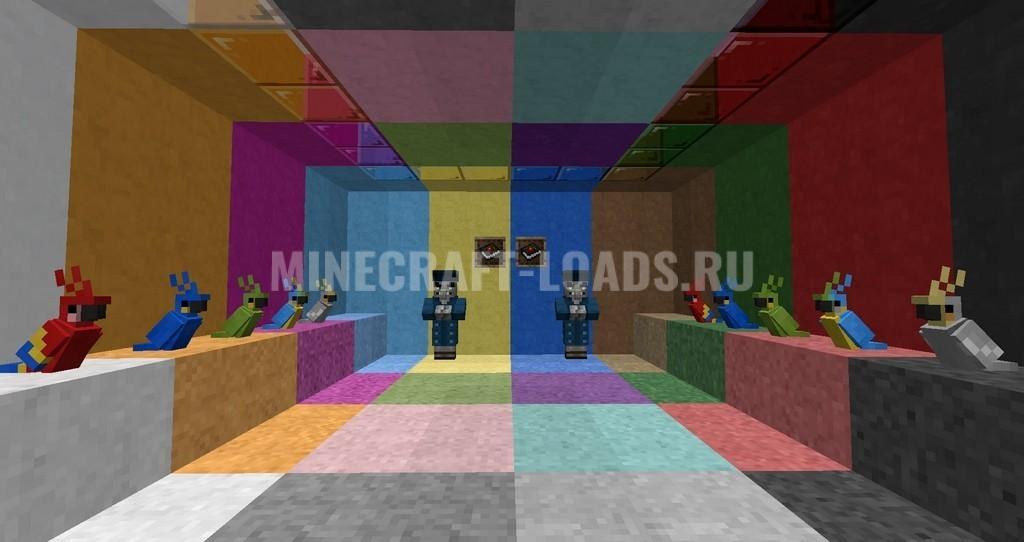 Ресурс пак Painterly Pack для Minecraft 1.15