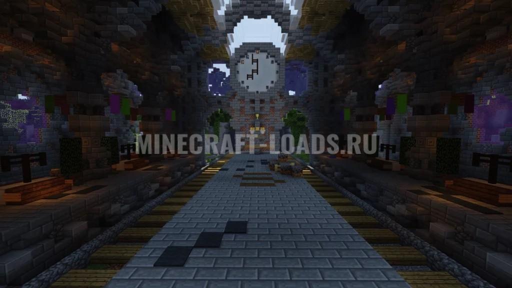 Карта Subcart 2 для Minecraft 1.12