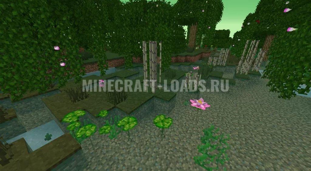 Ресурс пак ShengLing для Minecraft 1.16