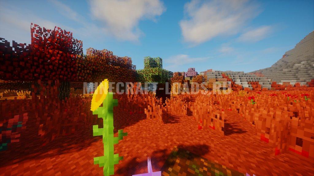 Ресурс пак Spring Breeze для Minecraft 1.16