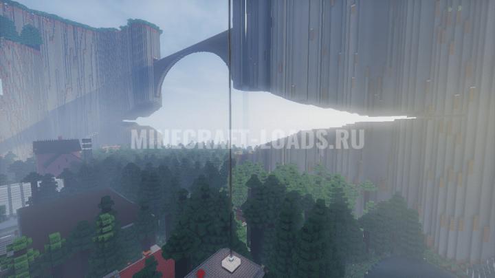 Карта приключений Гравити Фолз для Minecraft 1.11.2