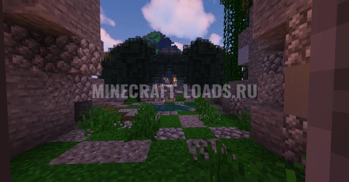 Карта Королевство мини-игр для Minecraft 1.16