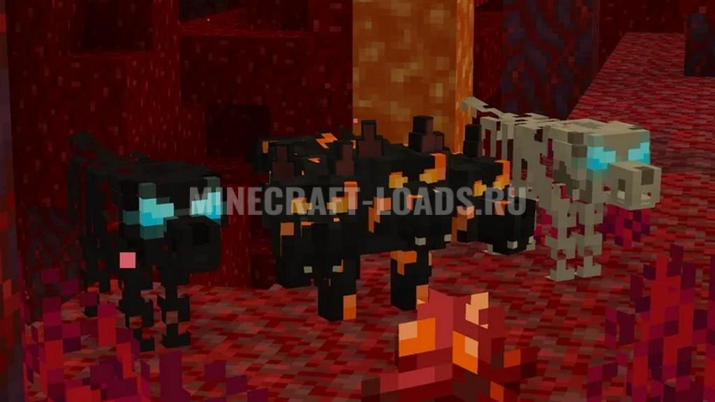 Ресурс пак Better Dogs для Minecraft 1.16