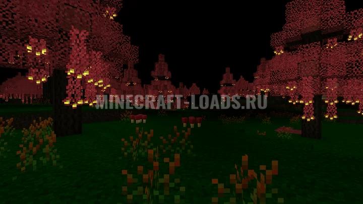 Мод Neverdark для Minecraft 1.15