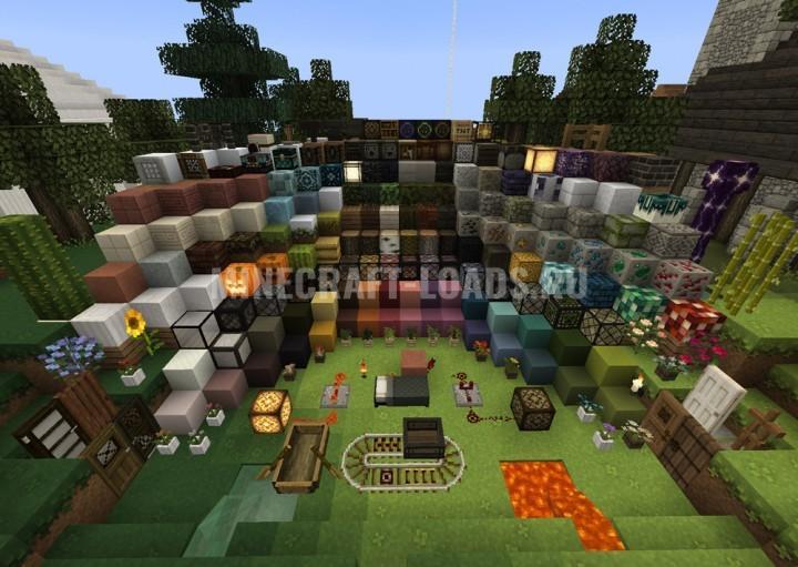 Ресурс пак Mizuno 16 Craft для Minecraft 1.16
