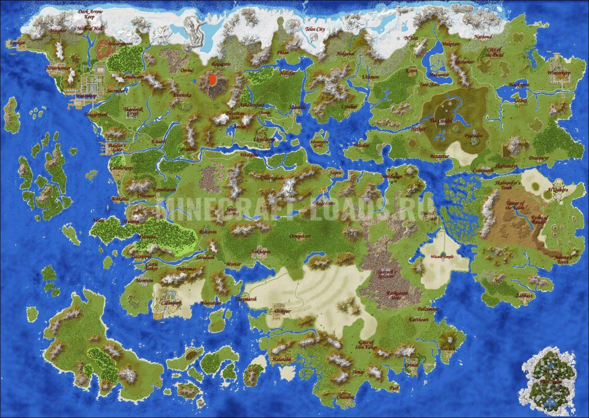 Карта Король теней для Minecraft 1.11.2