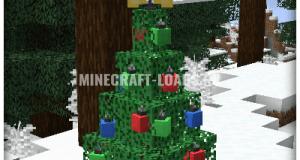 Мод Christmas Spirit для Minecraft 1.16.4